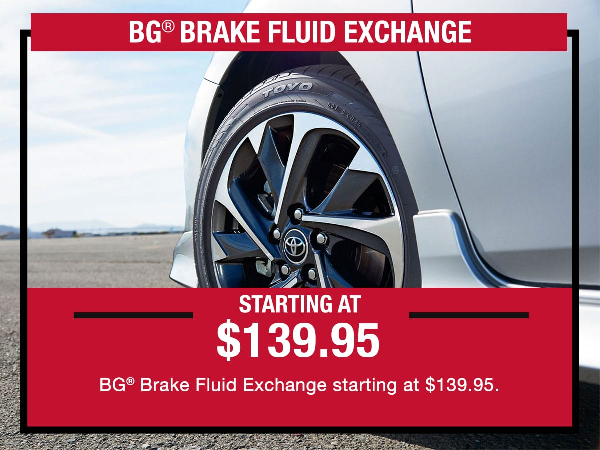 Brake Fluid Exchange Special Coupon
