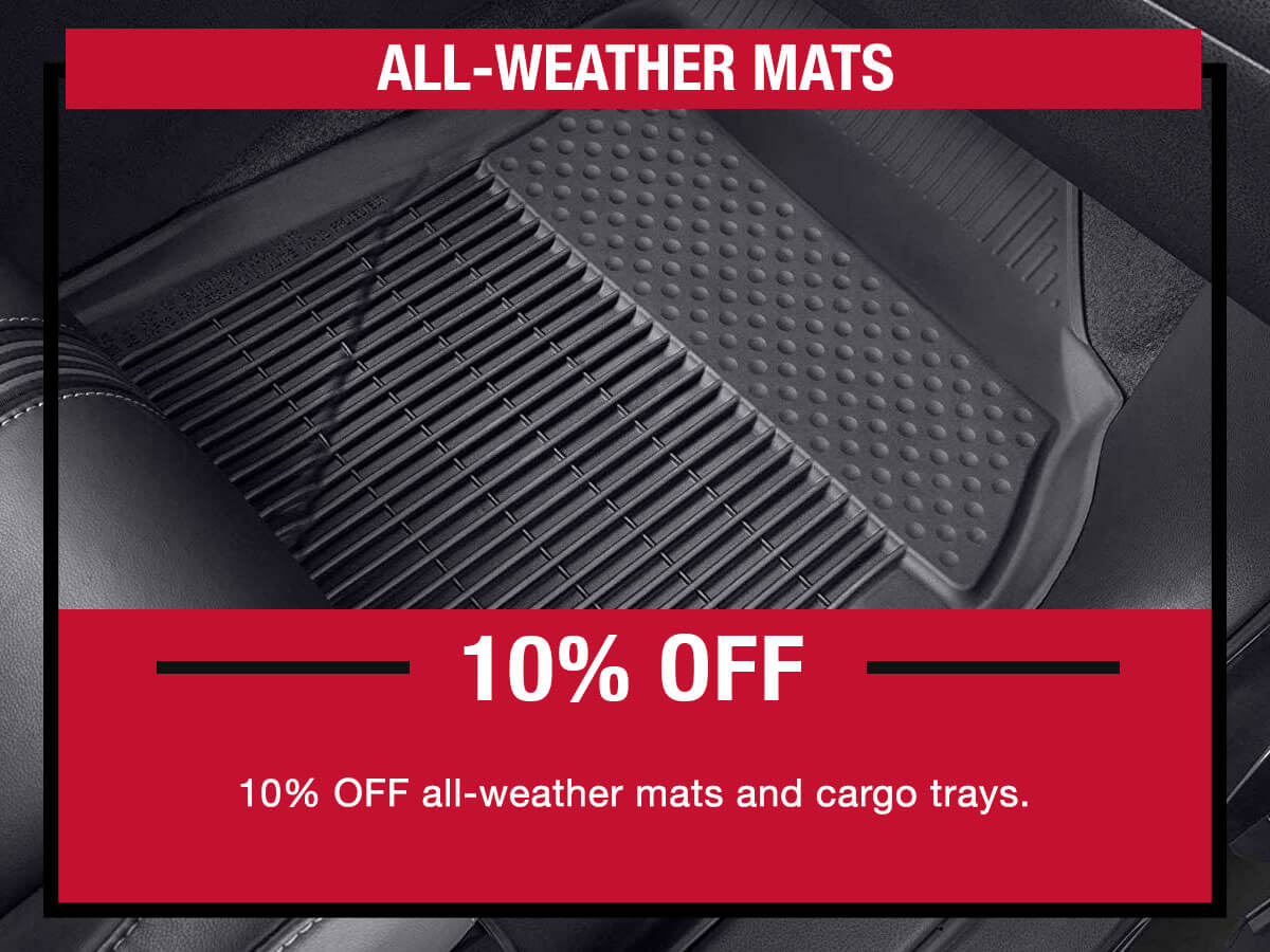 Toyota All Weather Mats Special
