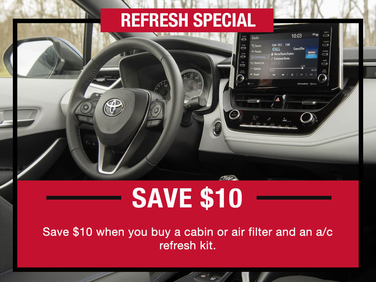 Toyota Refresh Special