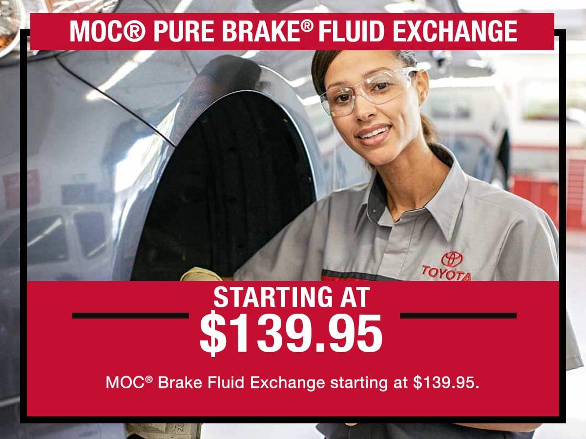 Brake Flush Special Service Special