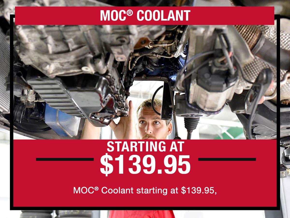 MOC Coolant Service Special