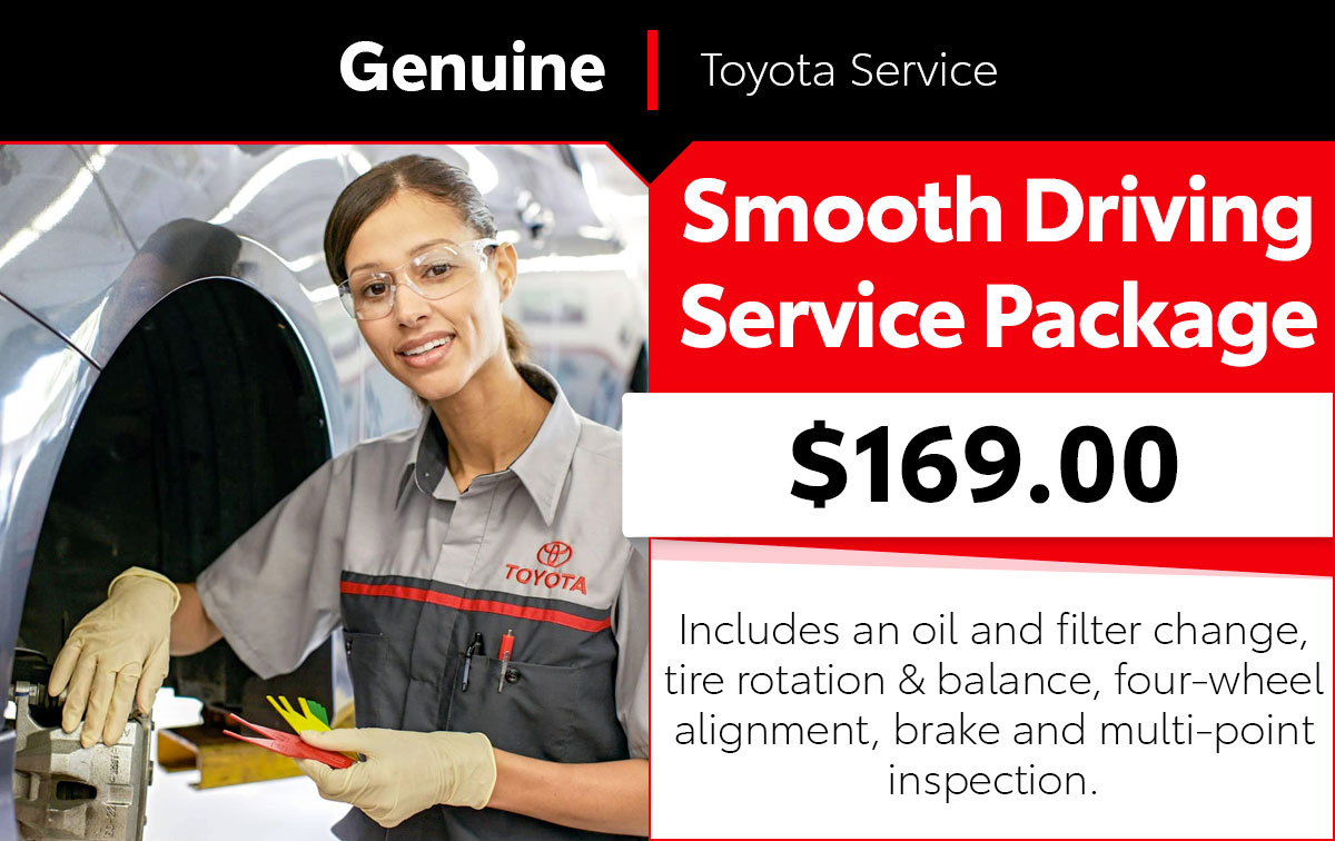 Smooth Driving Package Service Special Coupon