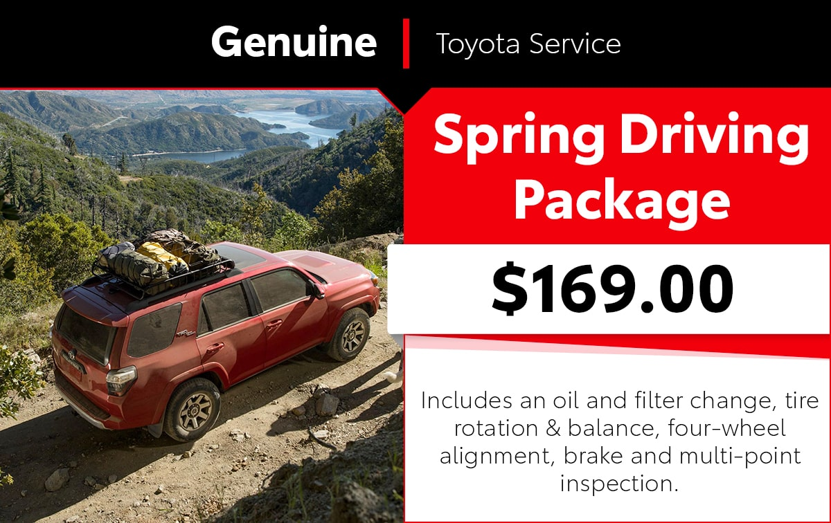 Spring Driving Package Service Special Coupon