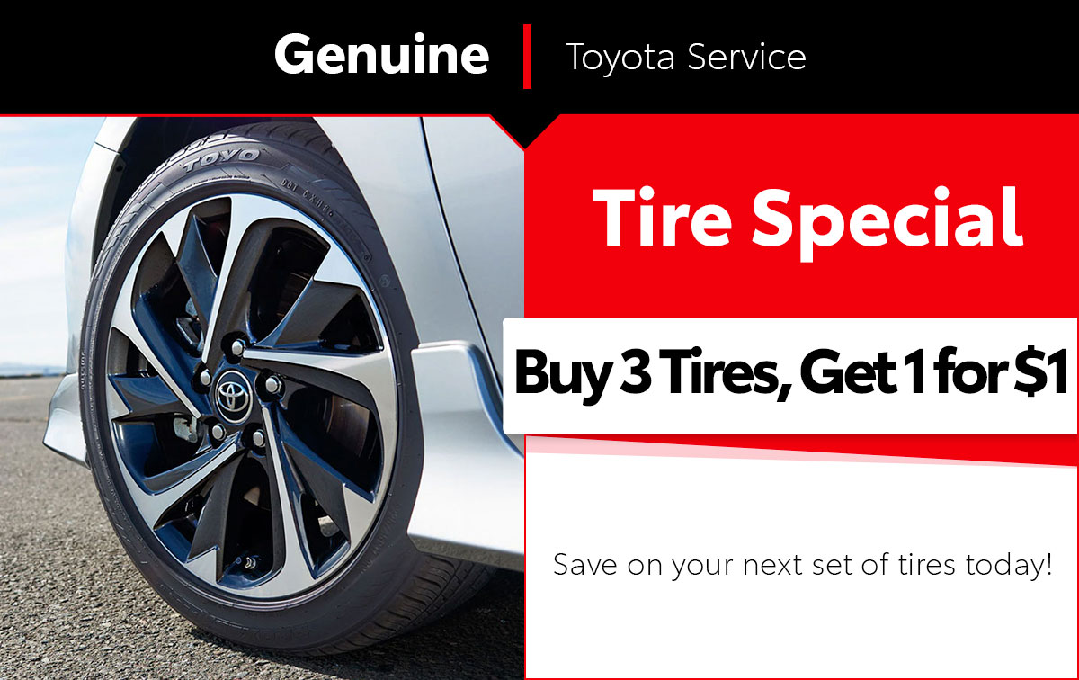 Toyota Tire Special Coupon