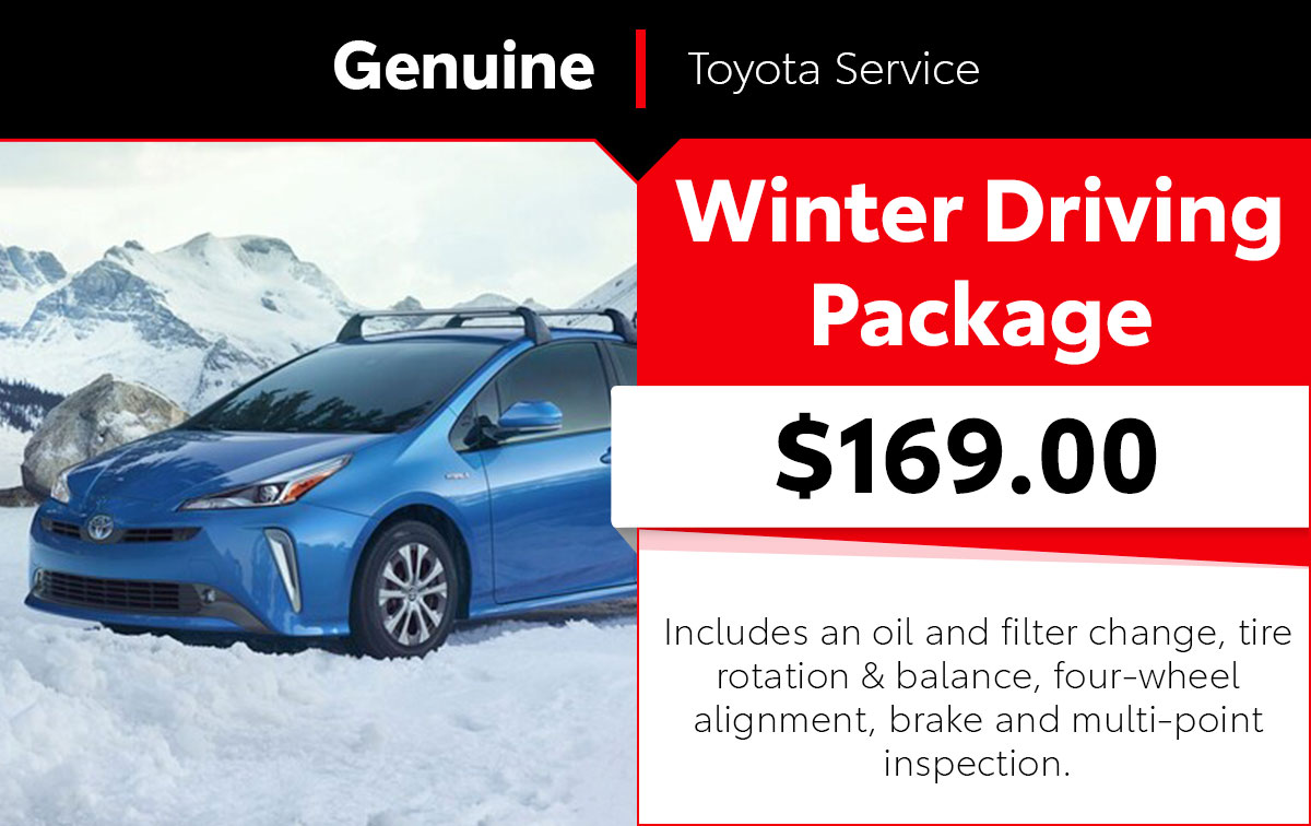 Winter Driving Package Service Special Coupon