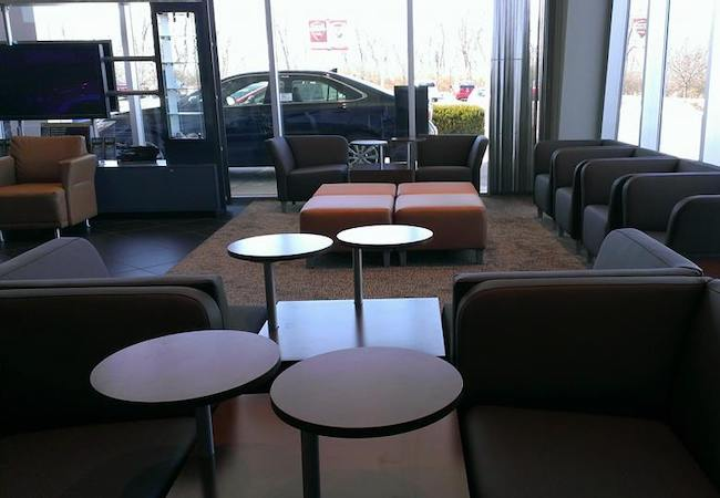 Pappas Toyota Waiting Area