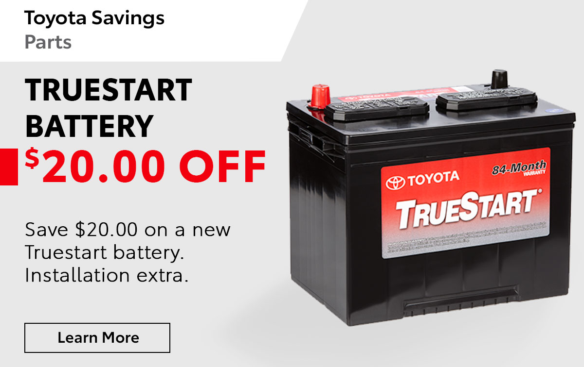Toyota Battery Special Coupon