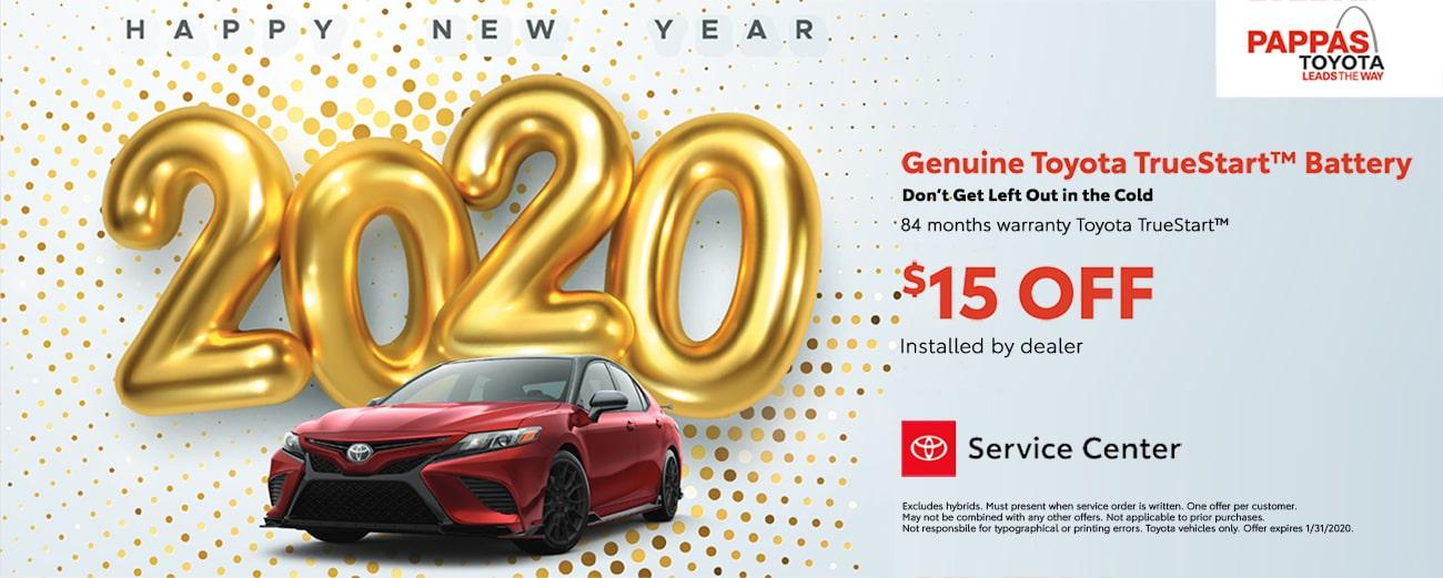 Toyota TrueStart Battery January Special