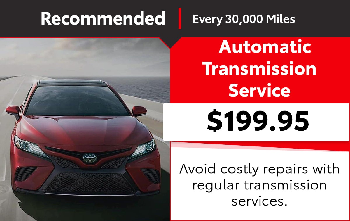 Toyota Automatic Transmission Service Special Coupon