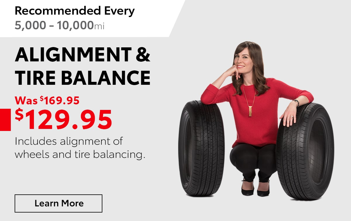 Toyota Alignment & Tire Balance Service Special Coupon