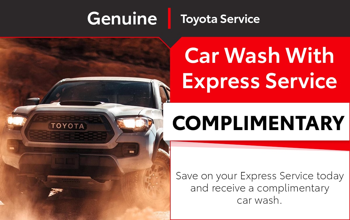 Toyota Express Service Special Coupon