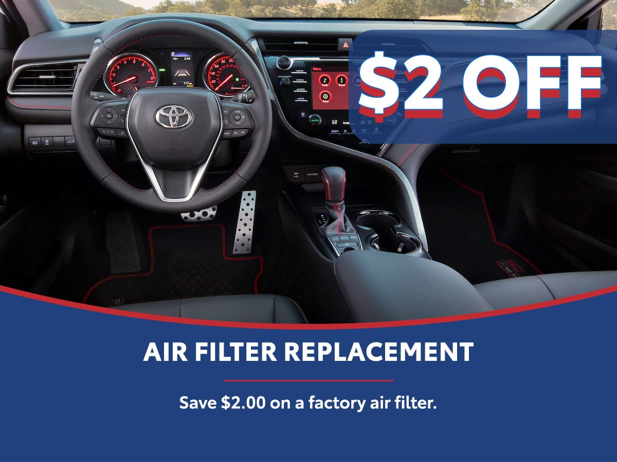 Air Filter Special Coupon