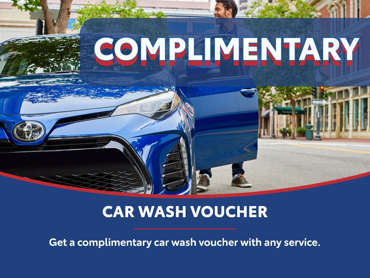 Complimentar Car Wash Voucher Special Coupon