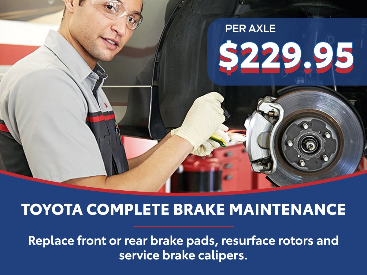 Complete Maintenance Care Brake Special Coupon