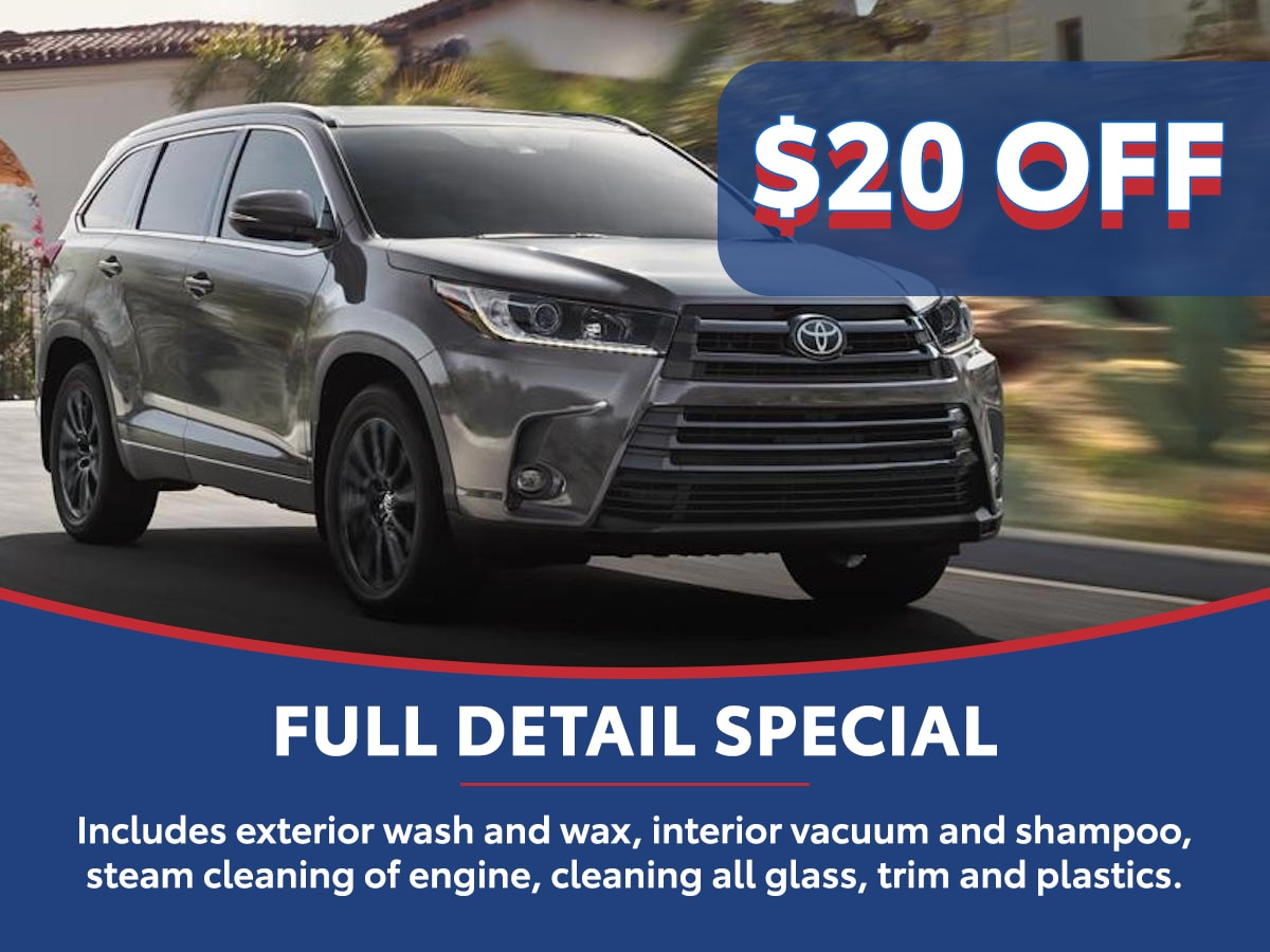 Full Detail Special Coupon Coupon