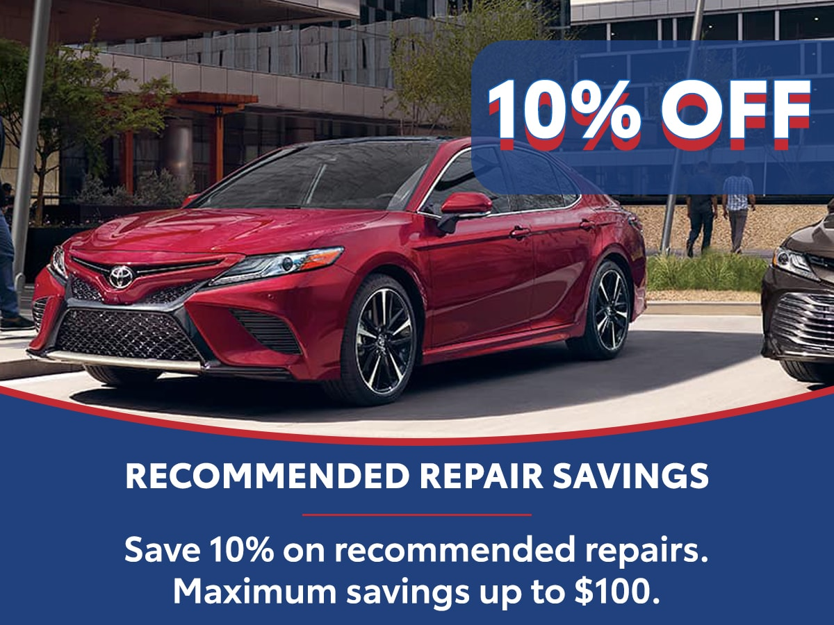 Recommended Repair Savings Special Coupon