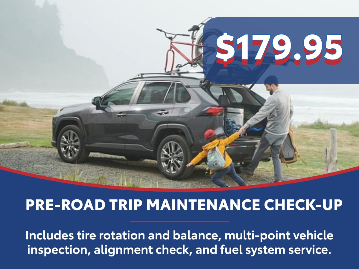 Pre-Road Trip Maintenance Check-up Special Coupon