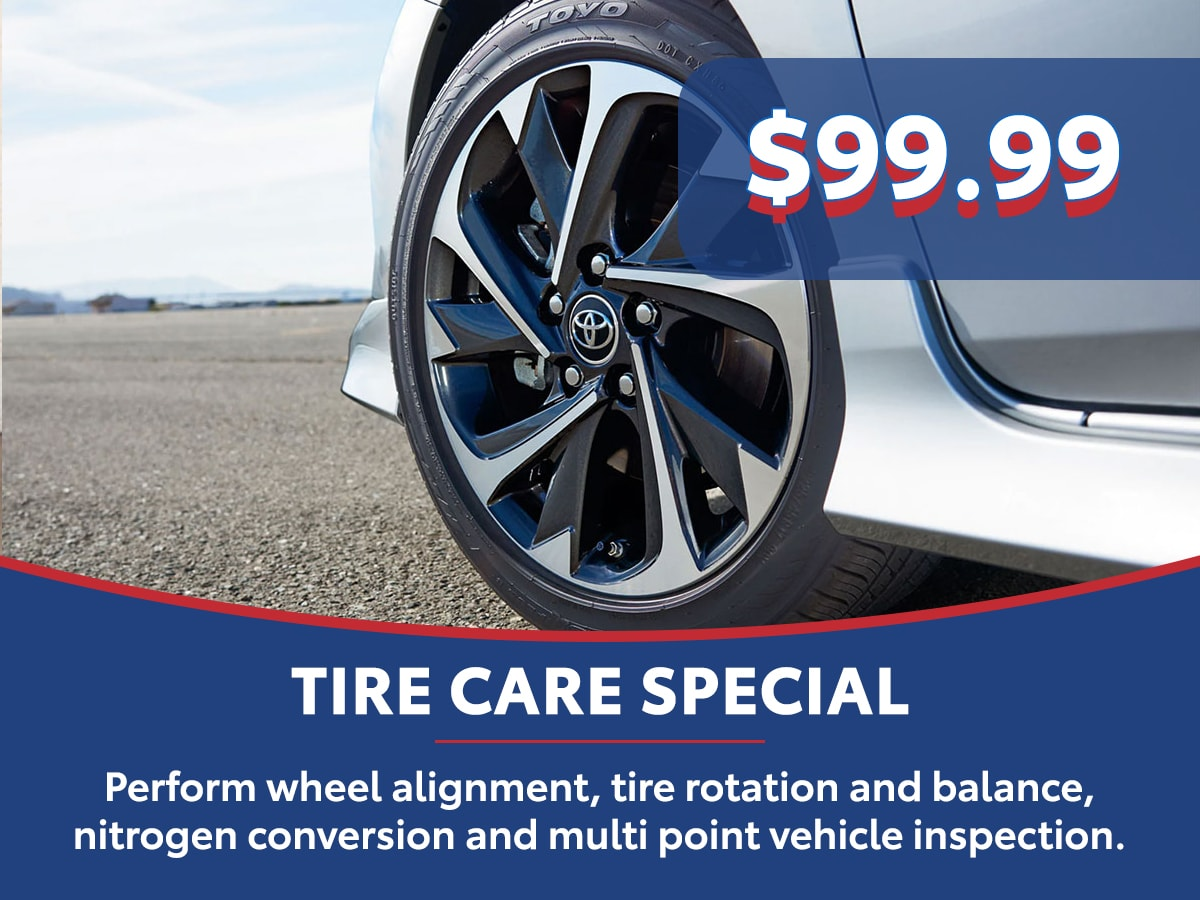 Tire Care Special Coupon
