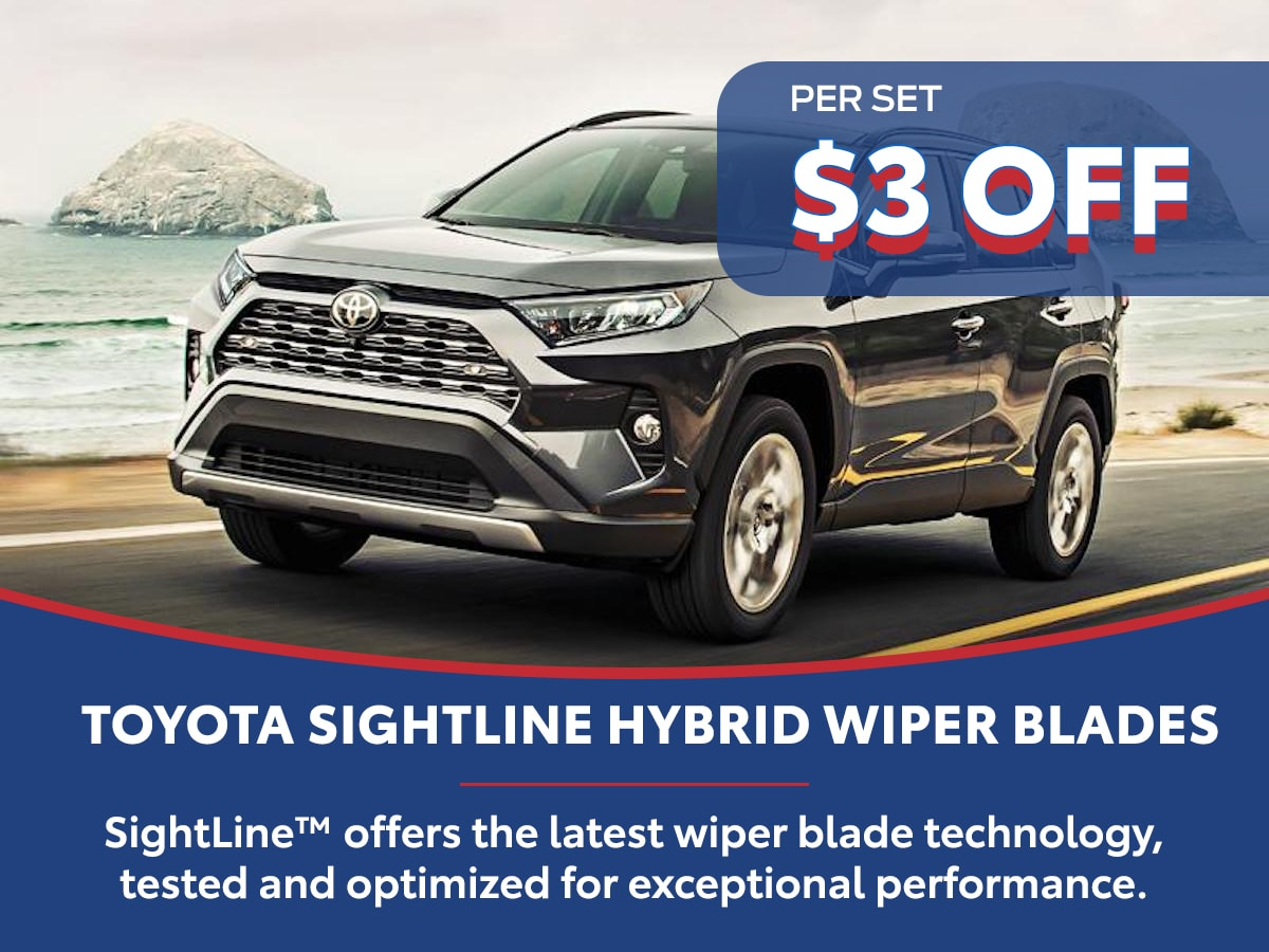 Toyota Sightline Hybrid Wiper Blades Special Coupon
