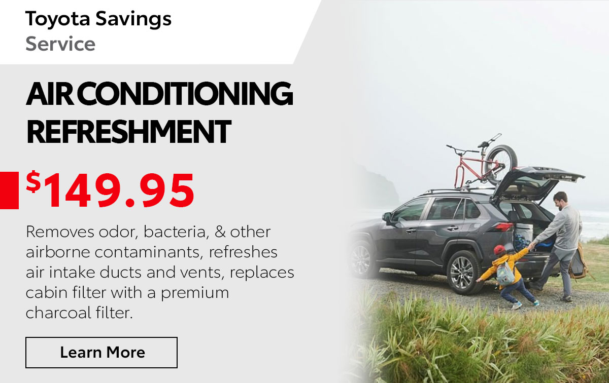 Toyota Air Conditioning Service Special Coupon