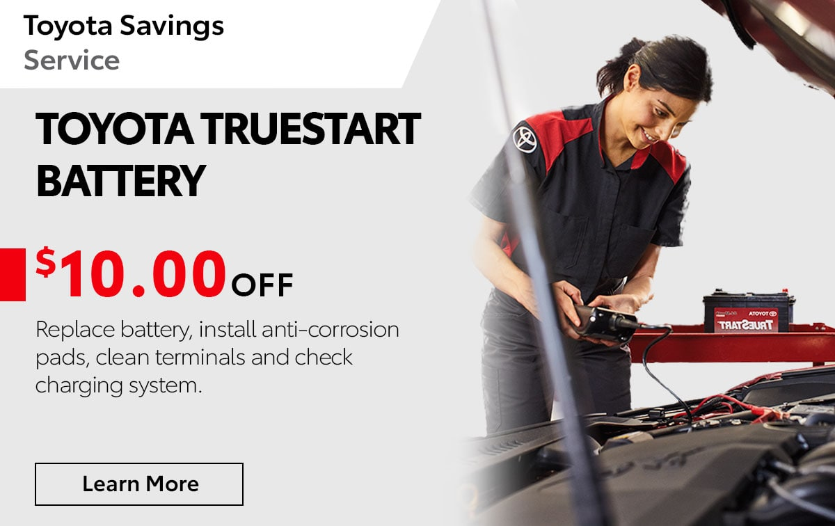 Toyota Truestart Battery Special Coupon