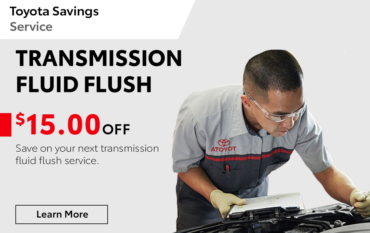 Toyota Transmission Fluid Flush Special Coupon