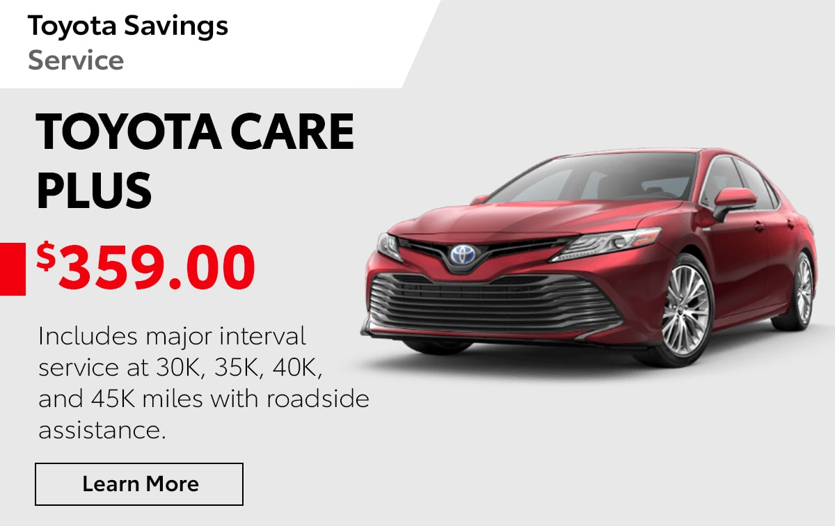 Toyota Care Plus Special Coupon