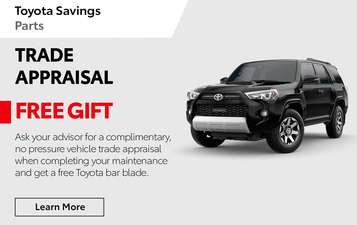 Toyota Trade Appraisal Special Coupon
