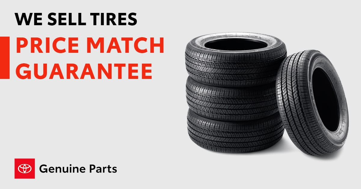 Toyota We Sell Tires Service Special Coupon
