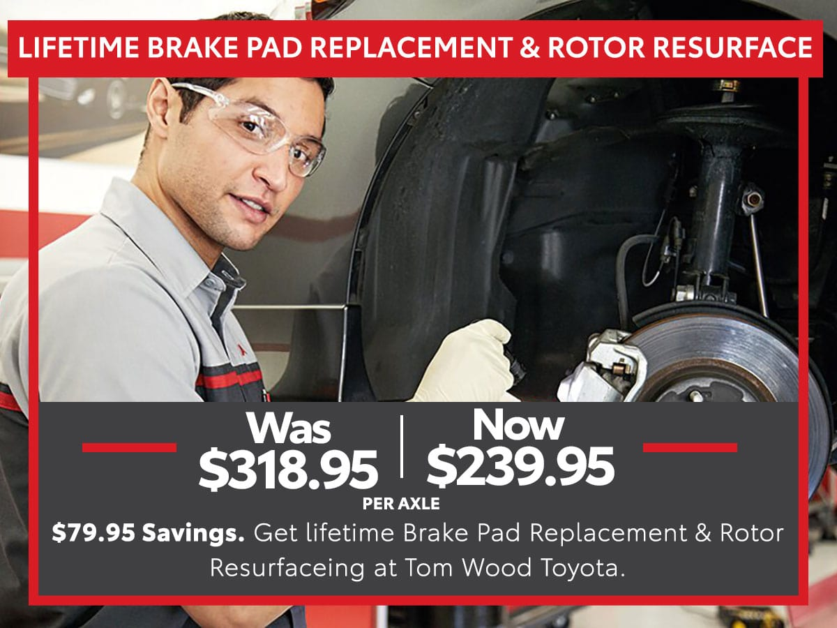 Lifetime Brake Pad Replacement and Rotor Resurface Service Special Coupon