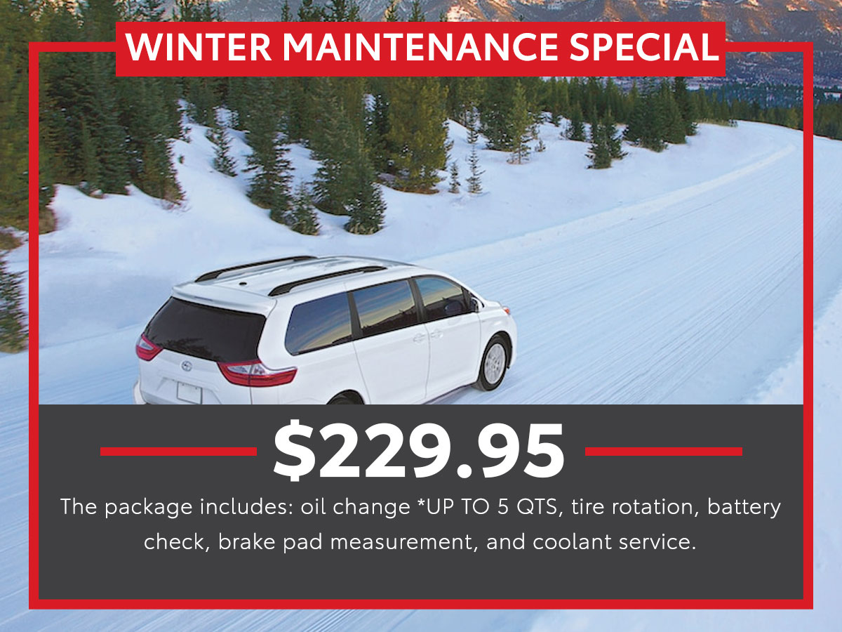 Winter Maintenance Service Special Coupon