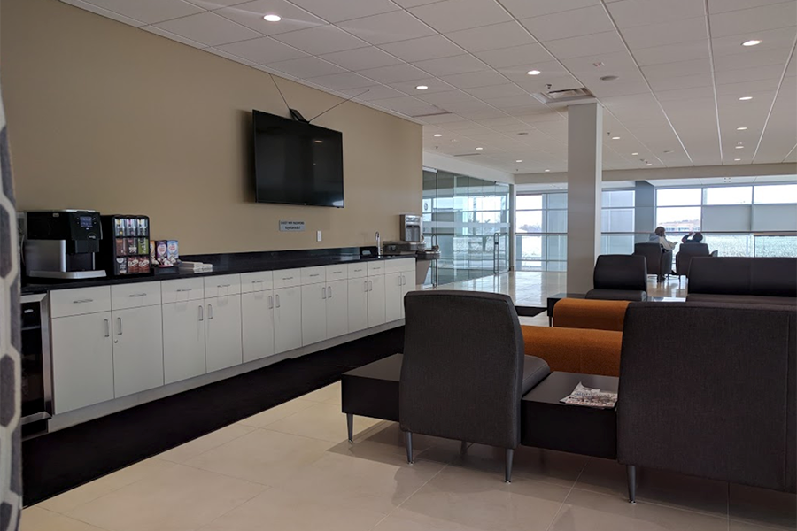 Tom Wood Toyota Waiting Area