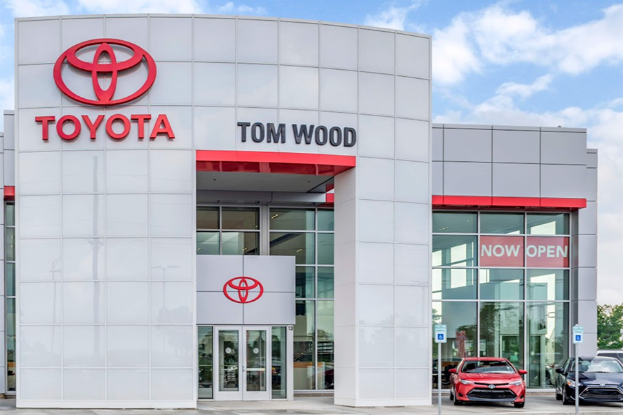 Tom Wood Toyota Storefront