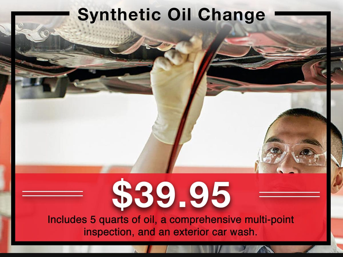 Toyota Synthetic Oil Service Special Coupon