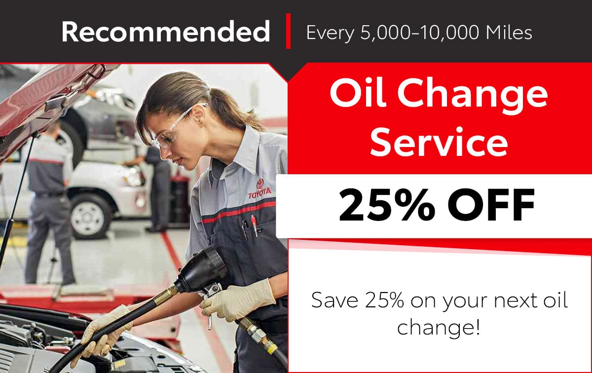 Oil Change Columbus Ohio >> Service Parts Specials In Columbus Oh Toyota West