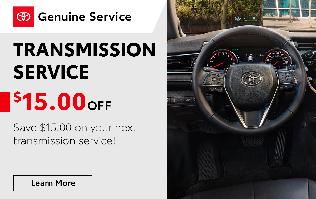 Toyota Transmission Service Special Coupon