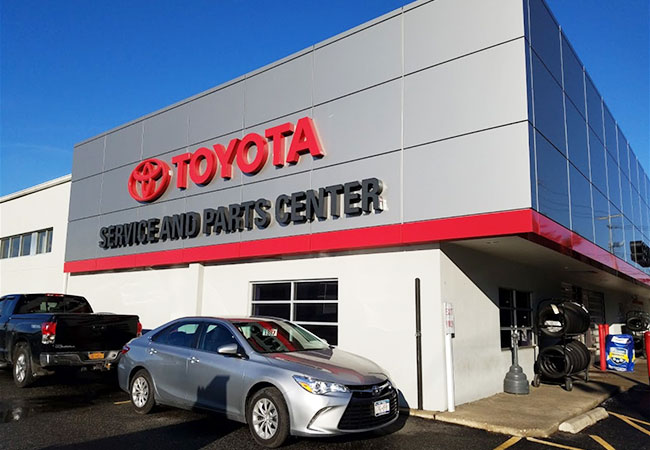 Westbury Toyota Service Center