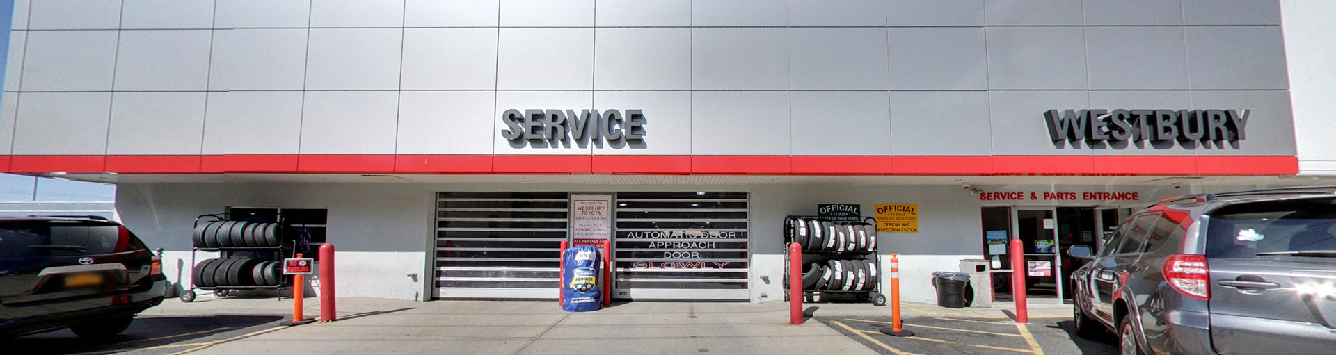 Westbury Toyota Service Department