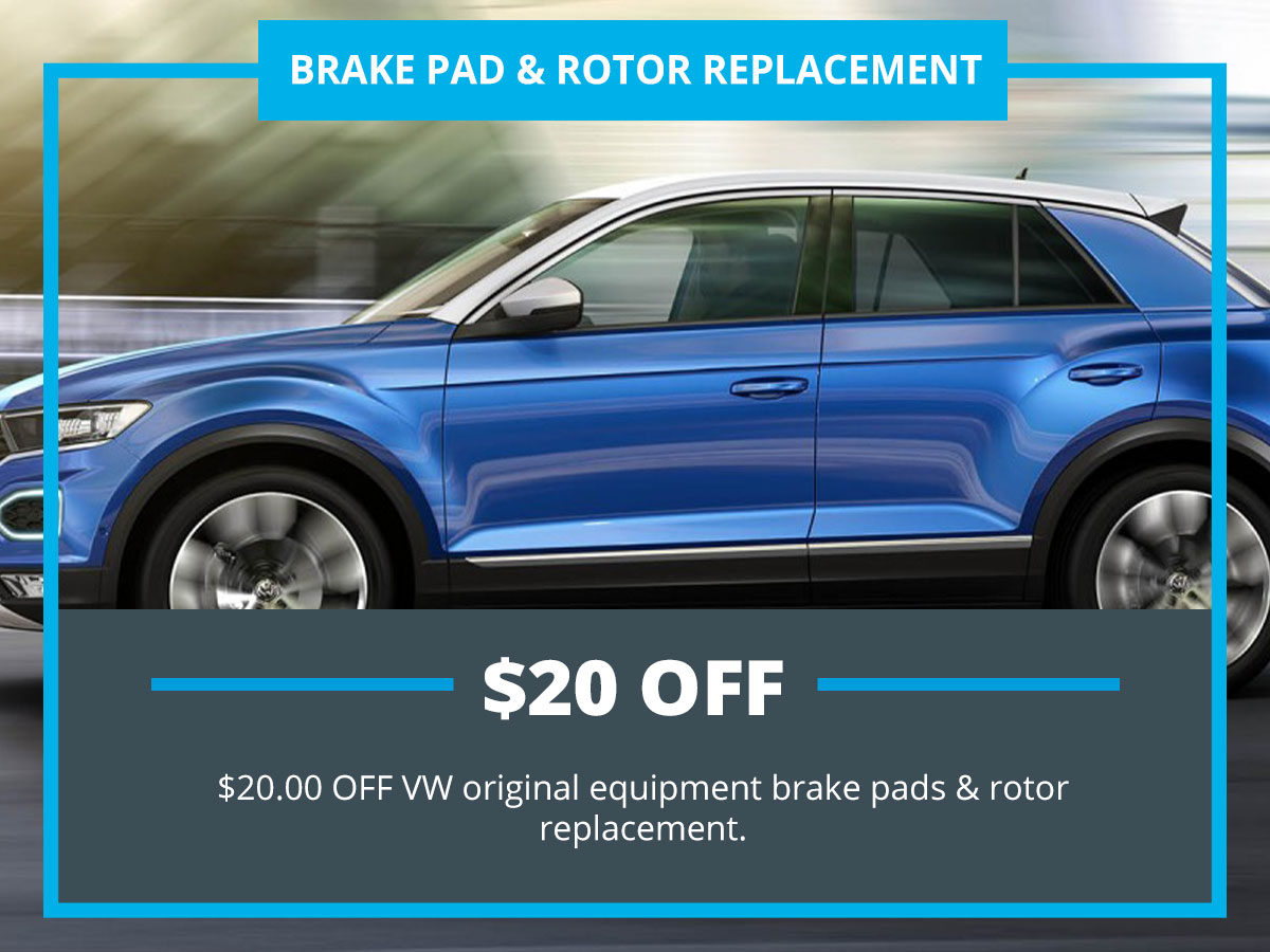 Brake Pad & Replacement Special