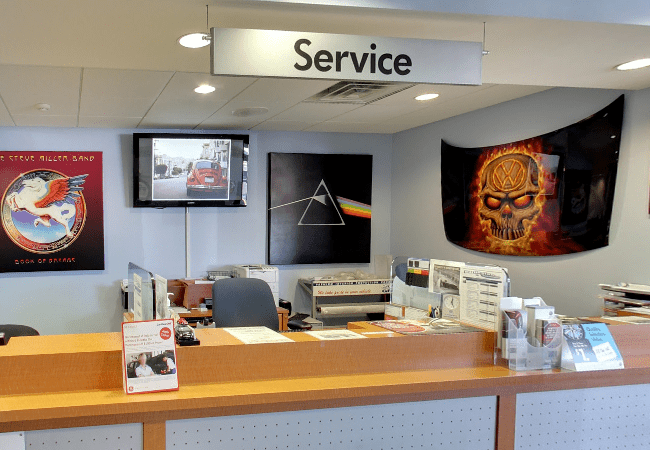 Burlington VW Service Department