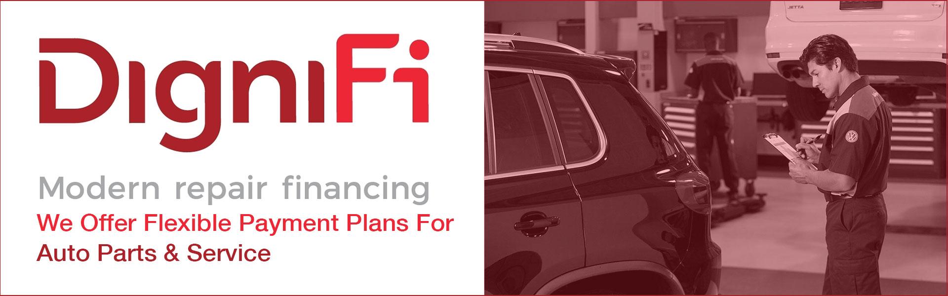 Nemer Volkswagen DigniFi Service Financing