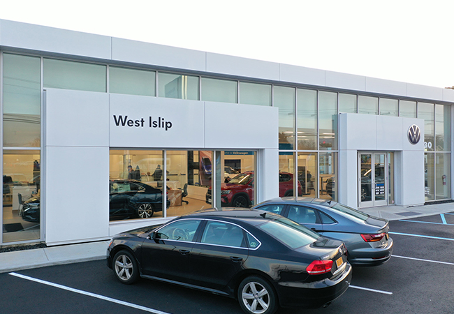 Volkswagen of West Islip Showroom