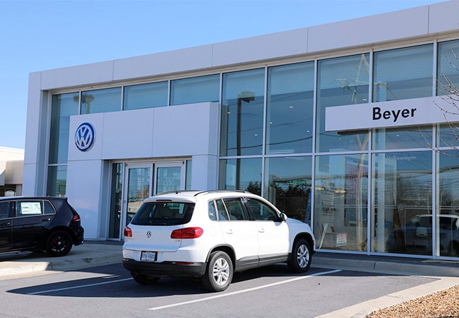 Beyer Volkswagen Dealership
