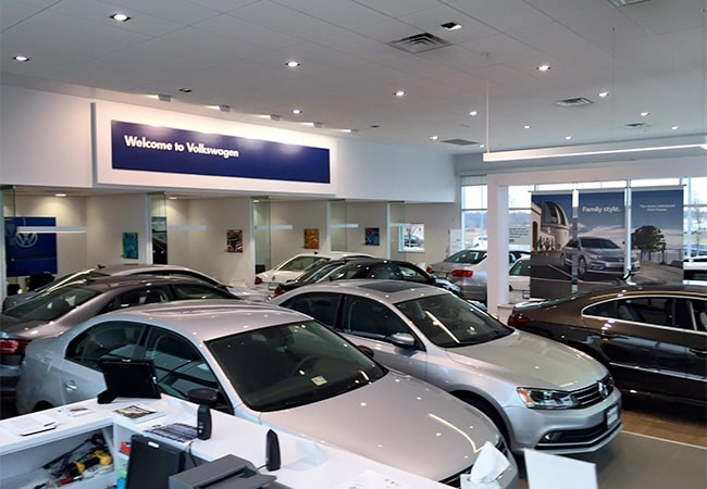 Beyer Volkswagen Showroom