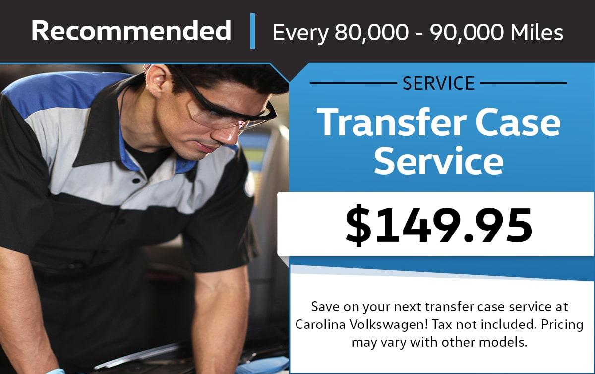 Volkswagen Transfer Case Service Service & Parts Specials