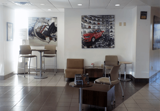 Southern VW Greenbrier Lounge