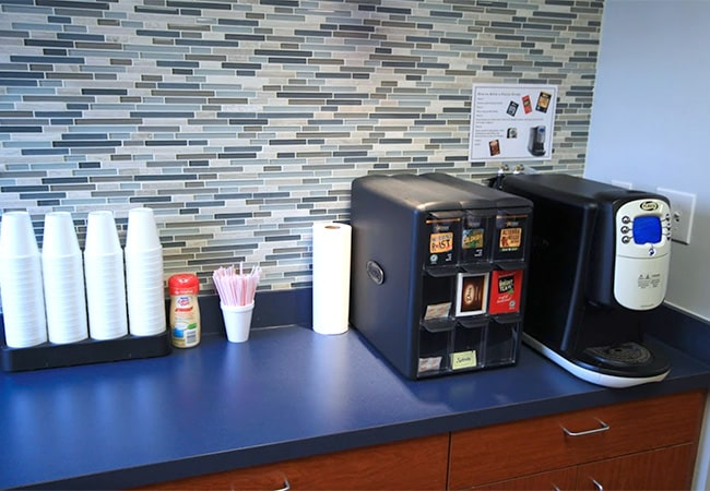 Complimentary Beverage & Coffee Bar
