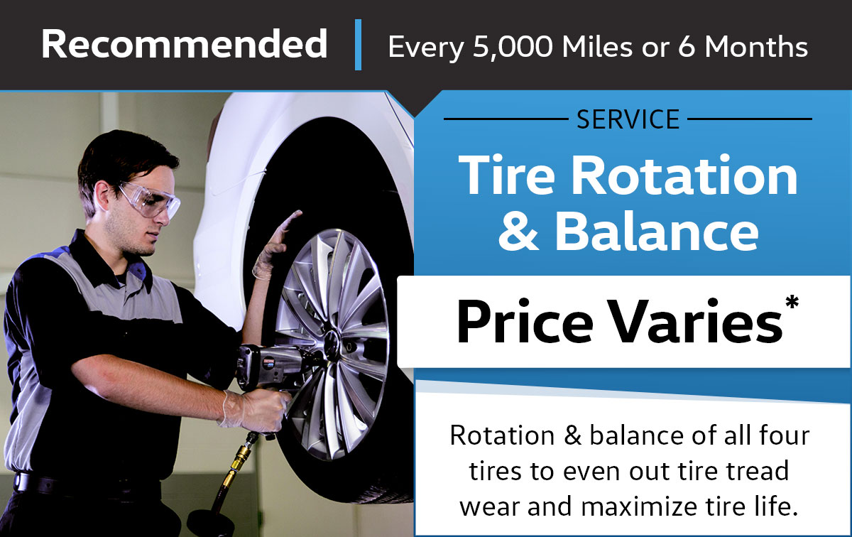VW Tire Rotation & Balance Service Special Coupon
