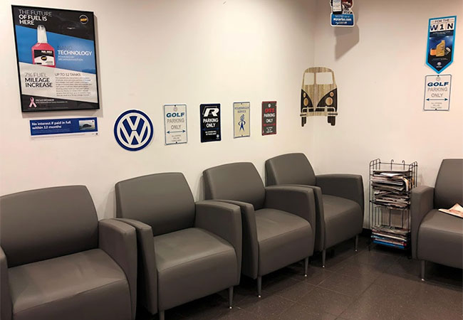 Bachman VW Waiting Room