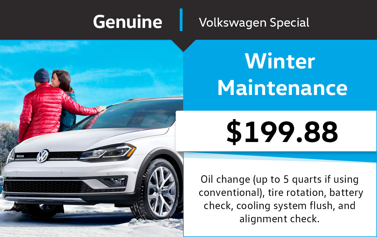 VW Winter Maintenance Special Coupon